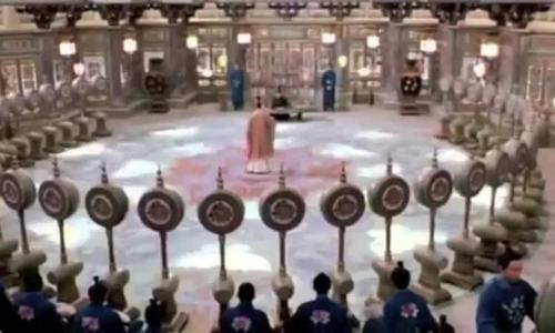 Cảnh phim chinh phục cả thế giới của Chương Tử Di trong 'Thập diện mai phục'