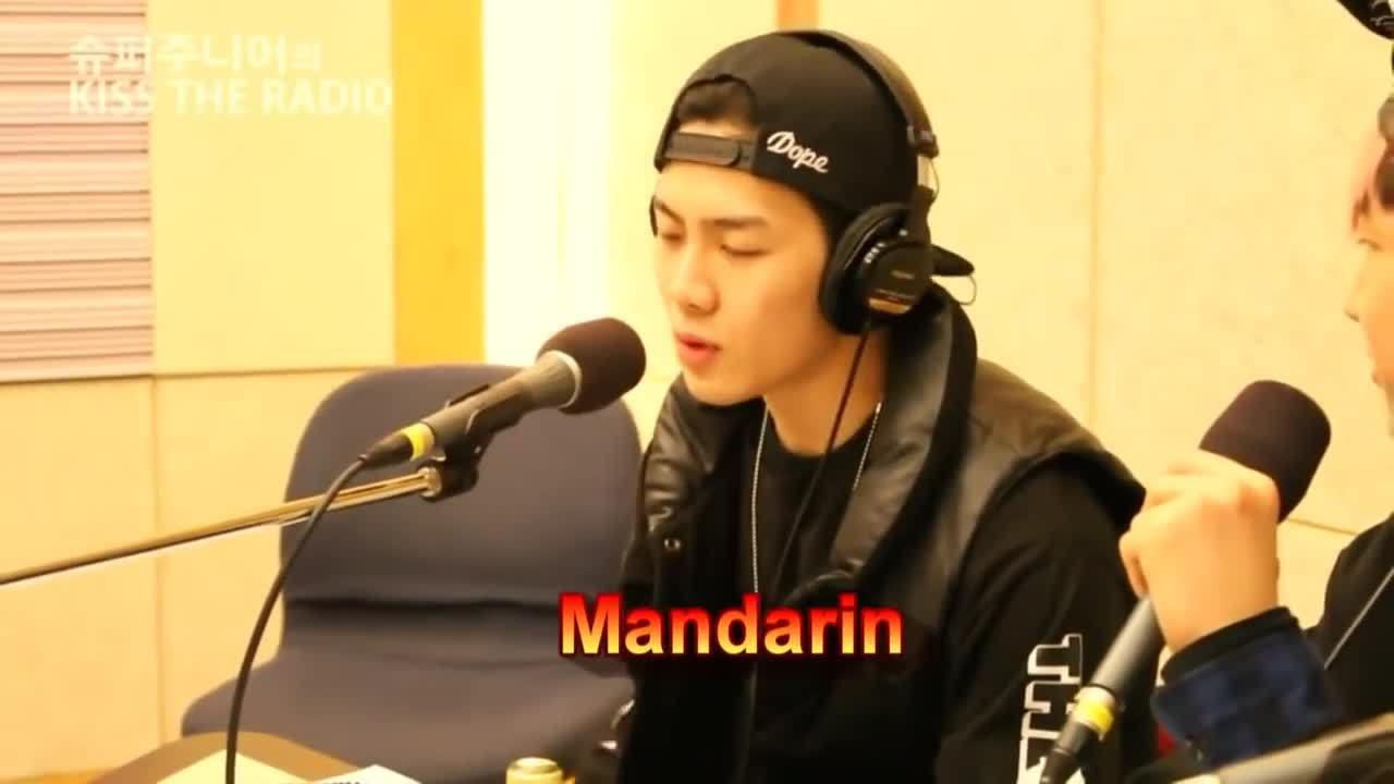Jackson (GOT7) nói ngoại ngữ