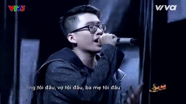 Ca khúc 'Bão' của chàng trai 23 tuổi khiến các HLV ra sức ca ngợi