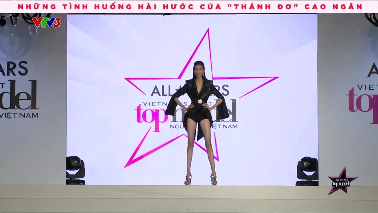 Cao Ngân ở Vietnam's Next Top Model 2017