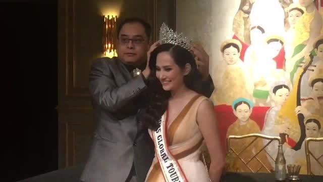 Diệu Linh được đính chính nhận giải Hoa hậu Du lịch Toàn cầu
