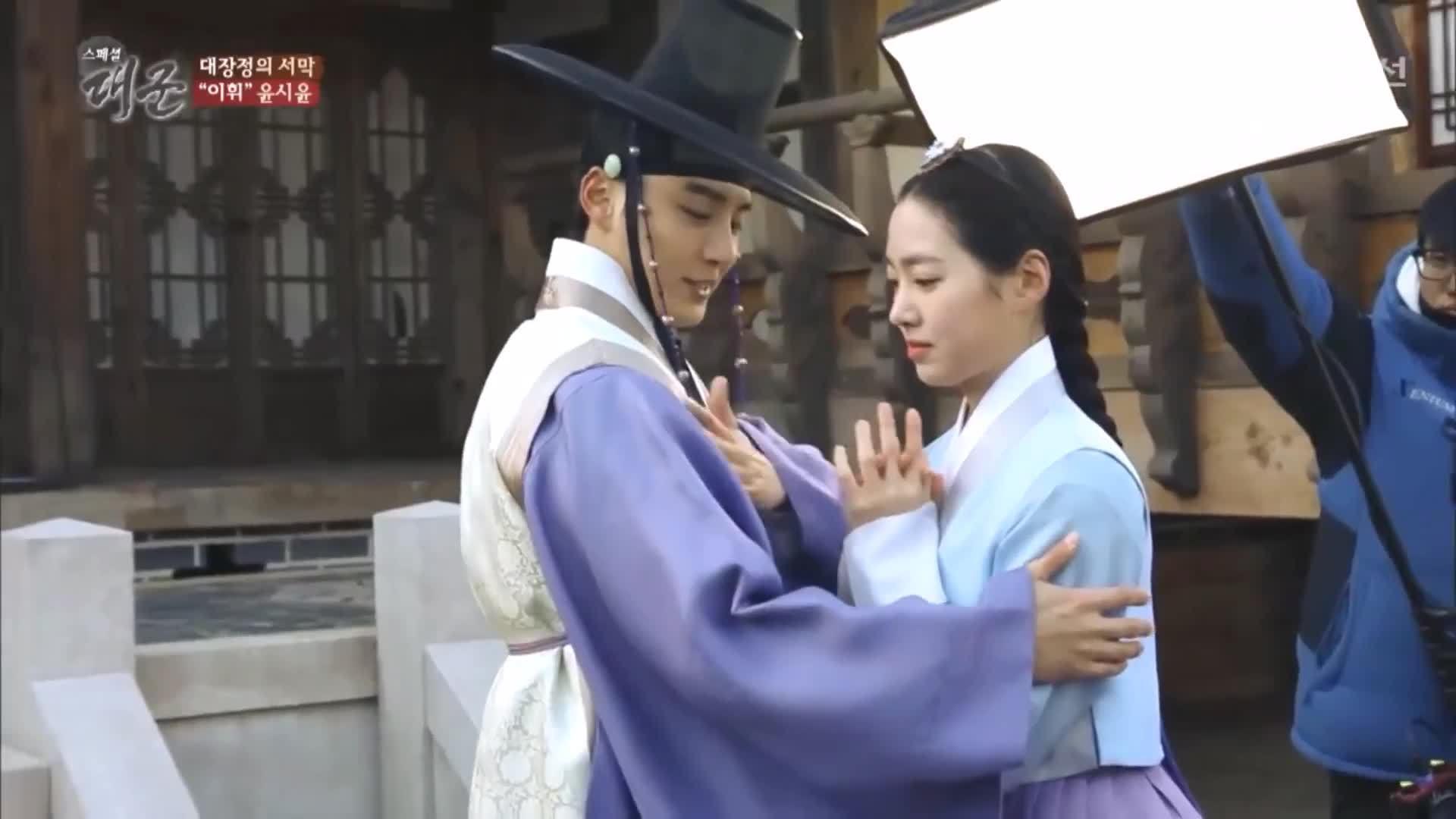 Hậu trường phim 'Grand Prince' của Jin Se Yeon