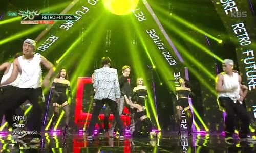 Hyun Ah biểu diễn trên Music Bank sau tin hẹn hò