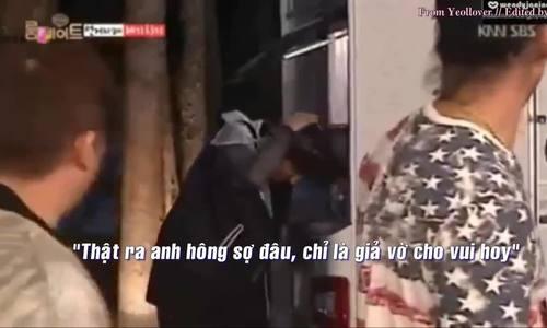 Chan Yeol sợ bọ