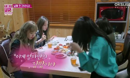 Hình ảnh đáng yêu của Red Velvet khi ngôi ăn cùng nhau