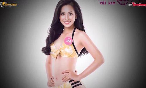 Nhan sắc các cô gái gây chú ý tại Hoa hậu Việt Nam 2018