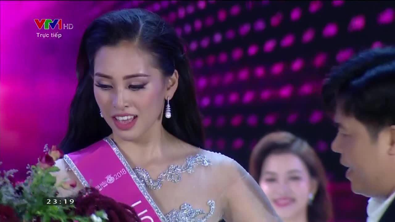 Trần Tiểu Vy đăng quang Hoa hậu Việt Nam 2018 (iOne)
