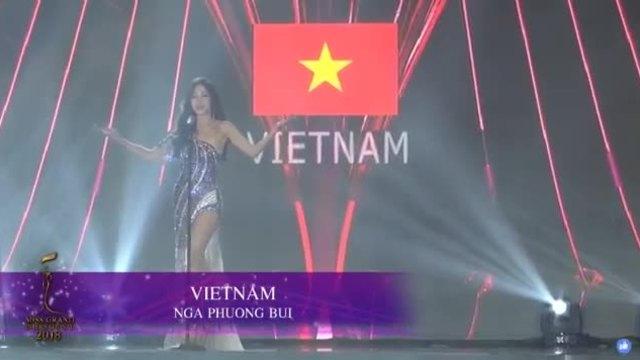 Phương Nga bán kết Miss Grand