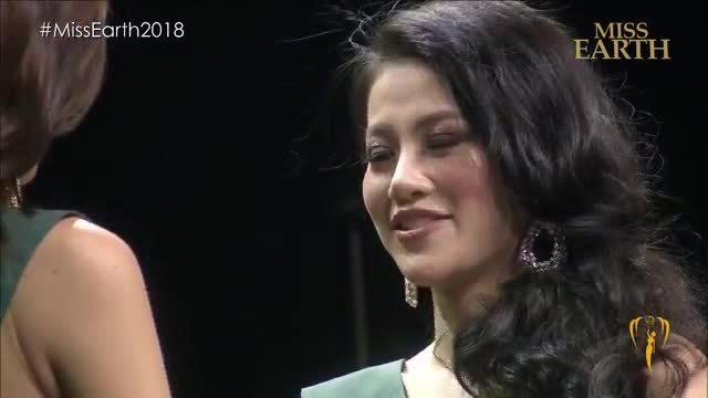 Khoảnh khắc đăng quang Hoa hậu Trái đất 2018 của Phương Khánh