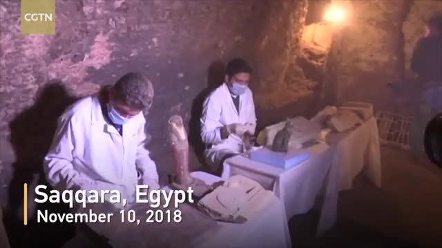 Hàng chục 'xác ướp lạ' được tìm thấy trong ngôi mộ 6.000 tuổi ở Ai Cập