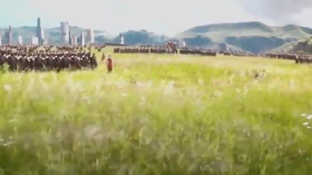 """Cảnh đội quân Wakanda hô to """"Wakanda forever"""" trước khi chiến đấu"""