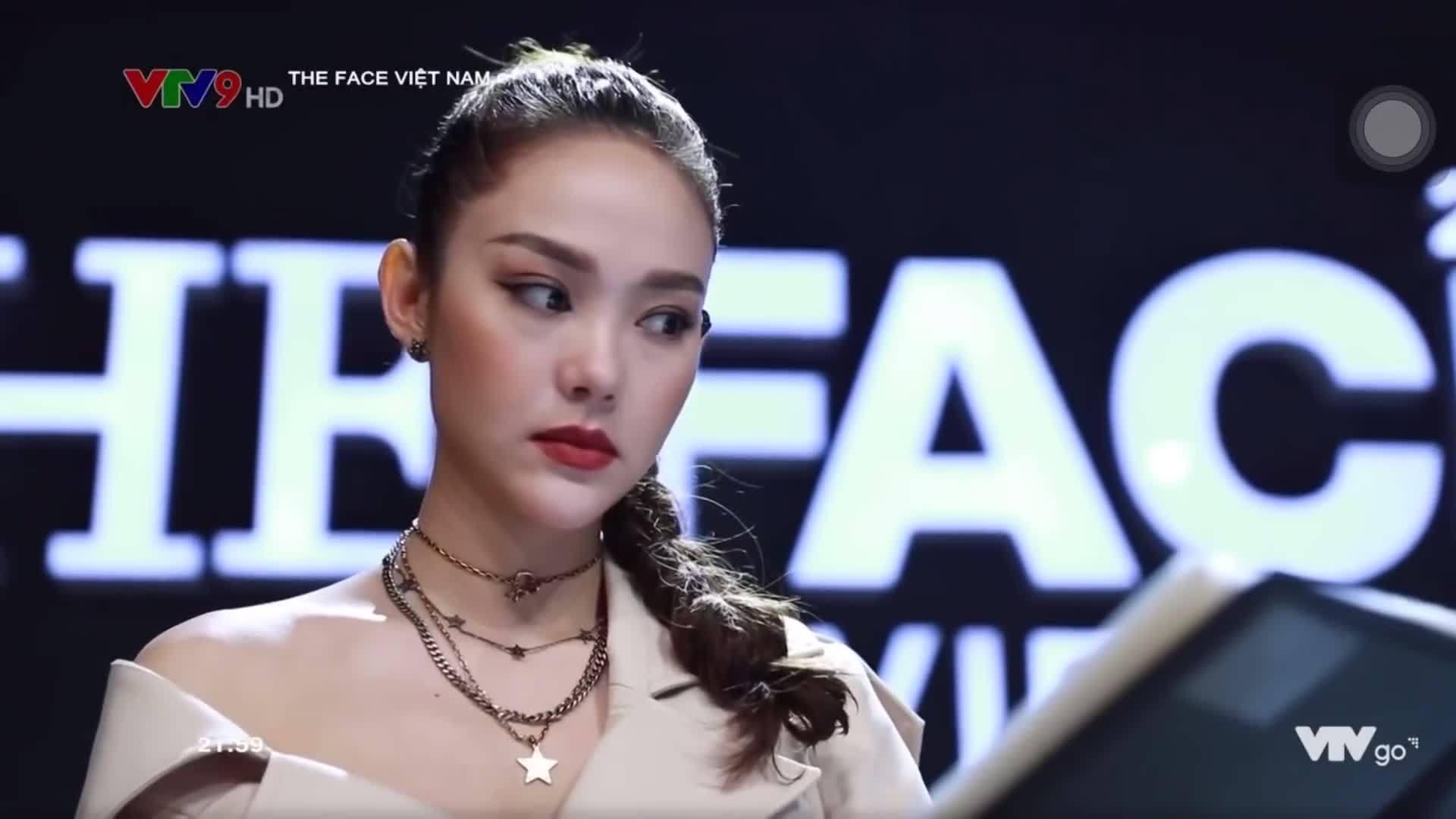 Minh Hằng từ chối quyền loại người trong tập 7 The Face