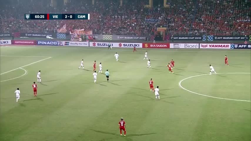 Siêu phẩm của Phan Văn Đức được bình chọn áp đảo trong Top 4 bàn thắng đẹp lượt trận cuối