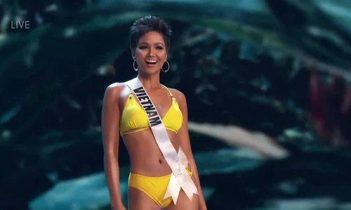 H'Hen Niê - bán kết Miss Universe Ione