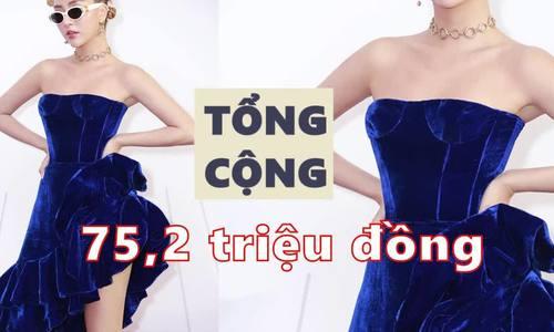 Quỳnh Anh Shyn chi 75 triệu đi sự kiện