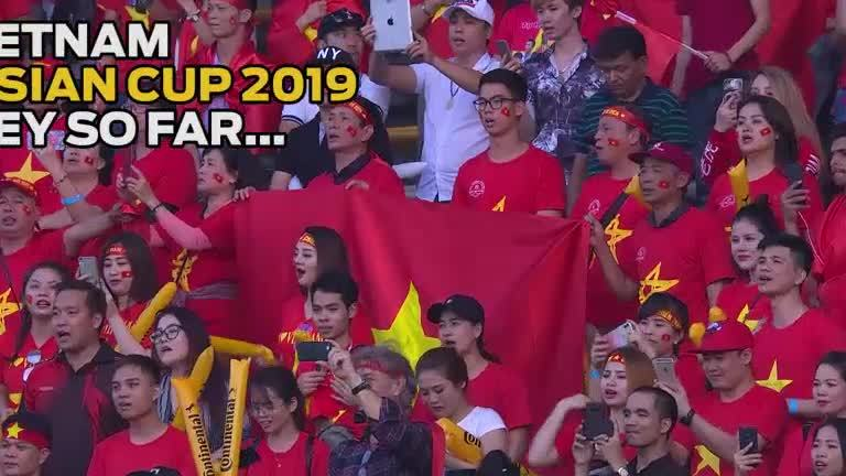 Hành trình tiến giải đấu Việt Nam