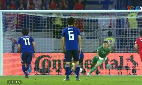 Khoảnh khắc Nhật Bản có bàn thắng 11m trước Việt Nam nhờ VAR