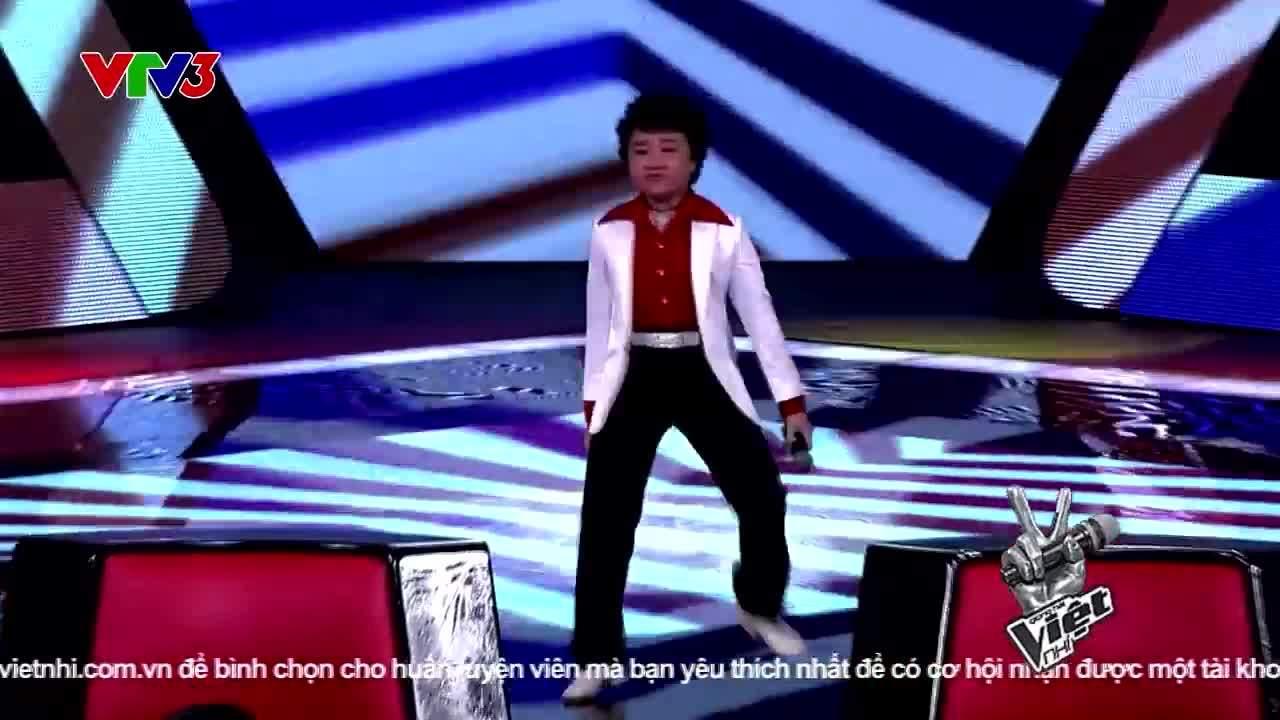 Hoàng Anh tóc xù The Voice Kids 2014