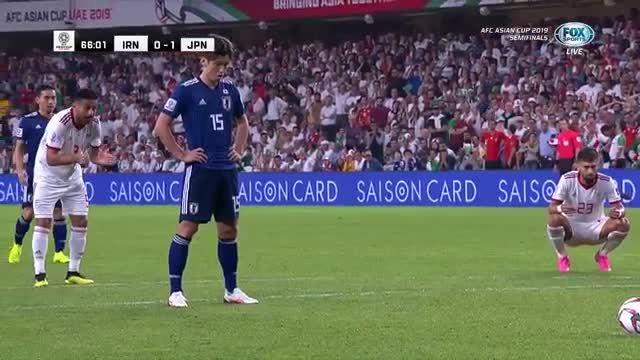 Bàn thắng nhờ VAR trận Nhật Bản - Iran