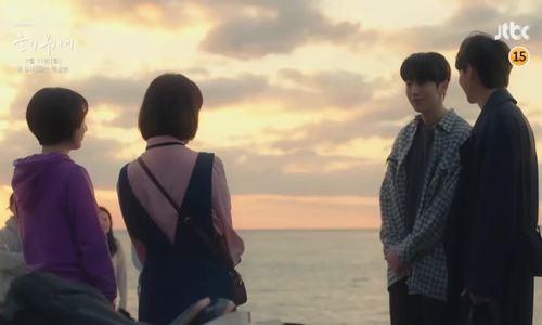 Nam Joo Hyuk và Han Ji Min (phim Dazzling)