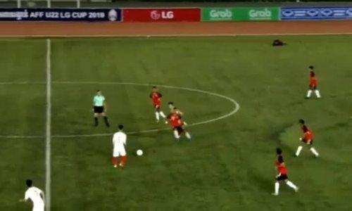 Hai cầu thủ U22 Việt Nam gặp chấn thương trước thềm trận đấu tối nay