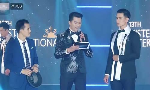 Trịnh Bảo đăng quang Mister International