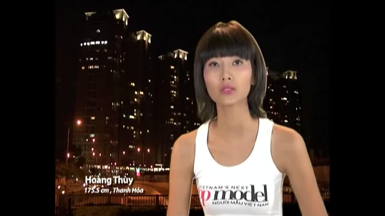 Hoàng Thùy tại Vietnam's Next Top Model 2011