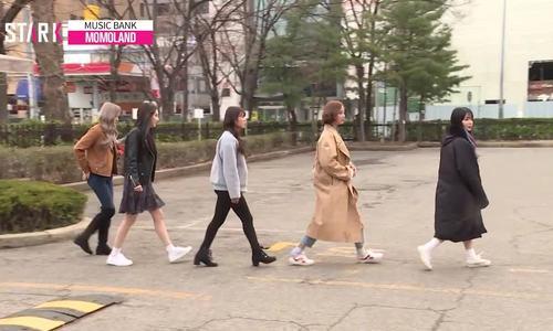 Nancy - Chae Yeon đọ nhan sắc trên đường đến Music Bank