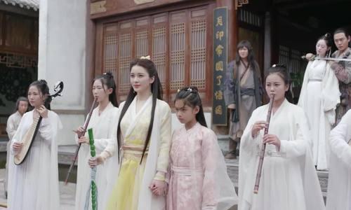 Triệu Anh Tử trong 'Tân Ỷ thiên đồ long ký'