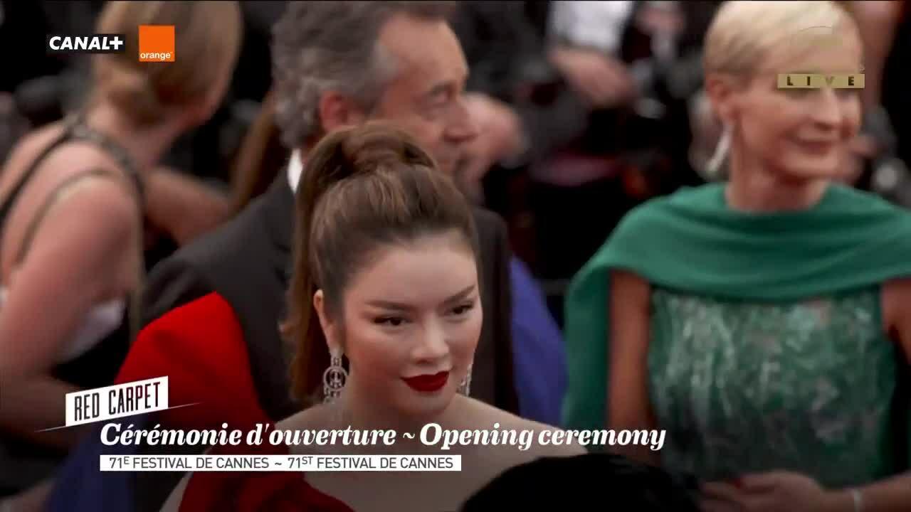 Lý Nhã Kỳ tại Cannes 2018