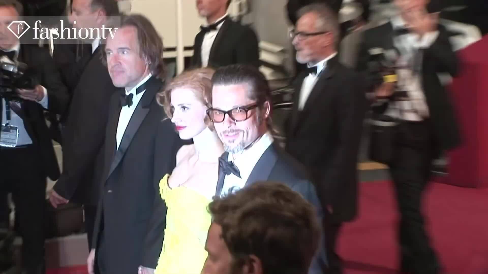 Brad Pitt và Angelina Joline tại LHP Cannes 2011