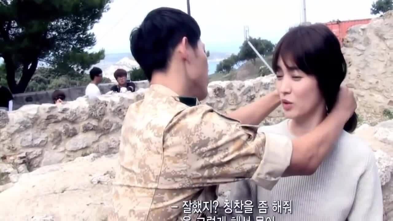 Hậu trường phim của Song Hye Kyo - Song Joong Ki