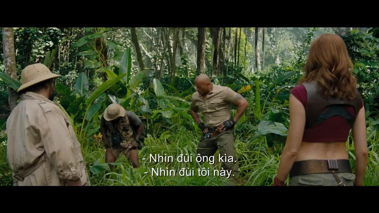 'Jumanji 3' tung trailer chính thức