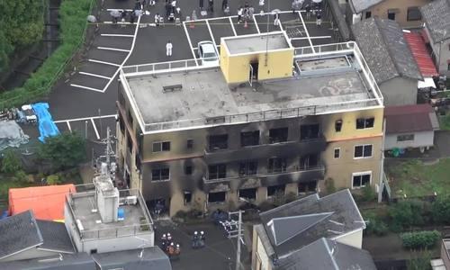 Cháy xưởng phim ở Nhật: Nạn nhân tháo chạy lên tầng thượng nhưng không mở được cửa