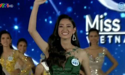 Khoảnh khắc đăng quang Miss World Vietnam của Lương Thùy Linh