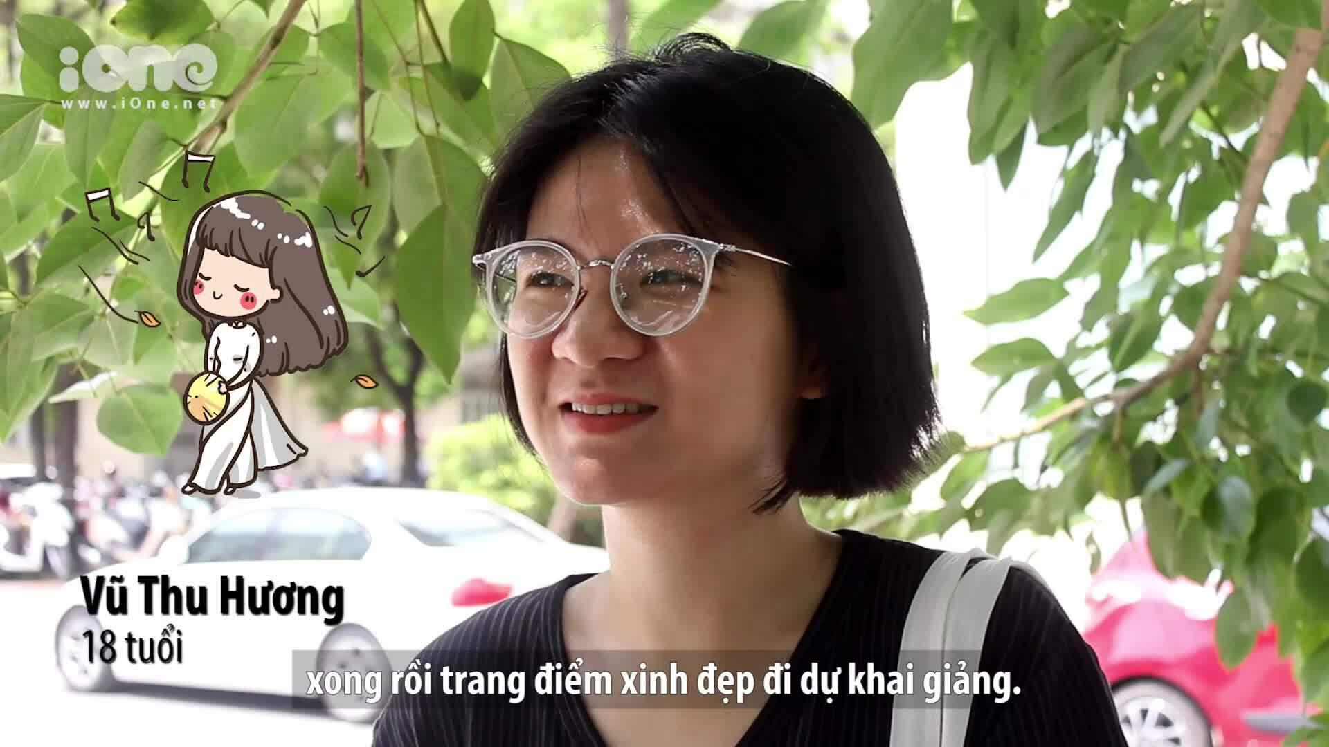 Học trò Hà Nội có mong chờ thả bóng bay trong lễ khai giảng?