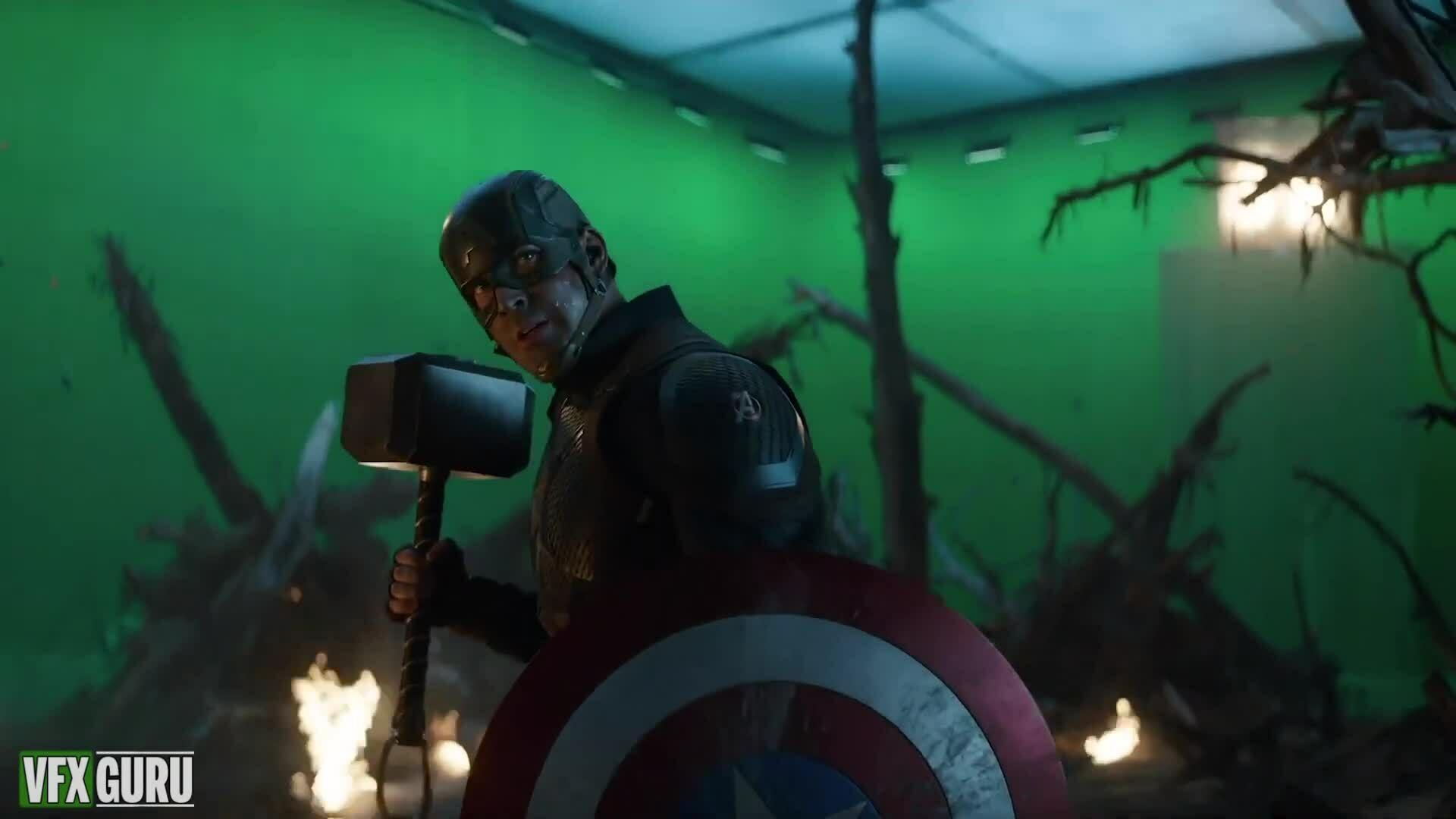 Kỹ xảo VFX trong Avengers: Endgame
