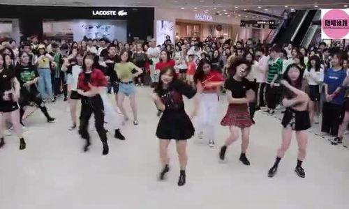 Kpop random dance in China