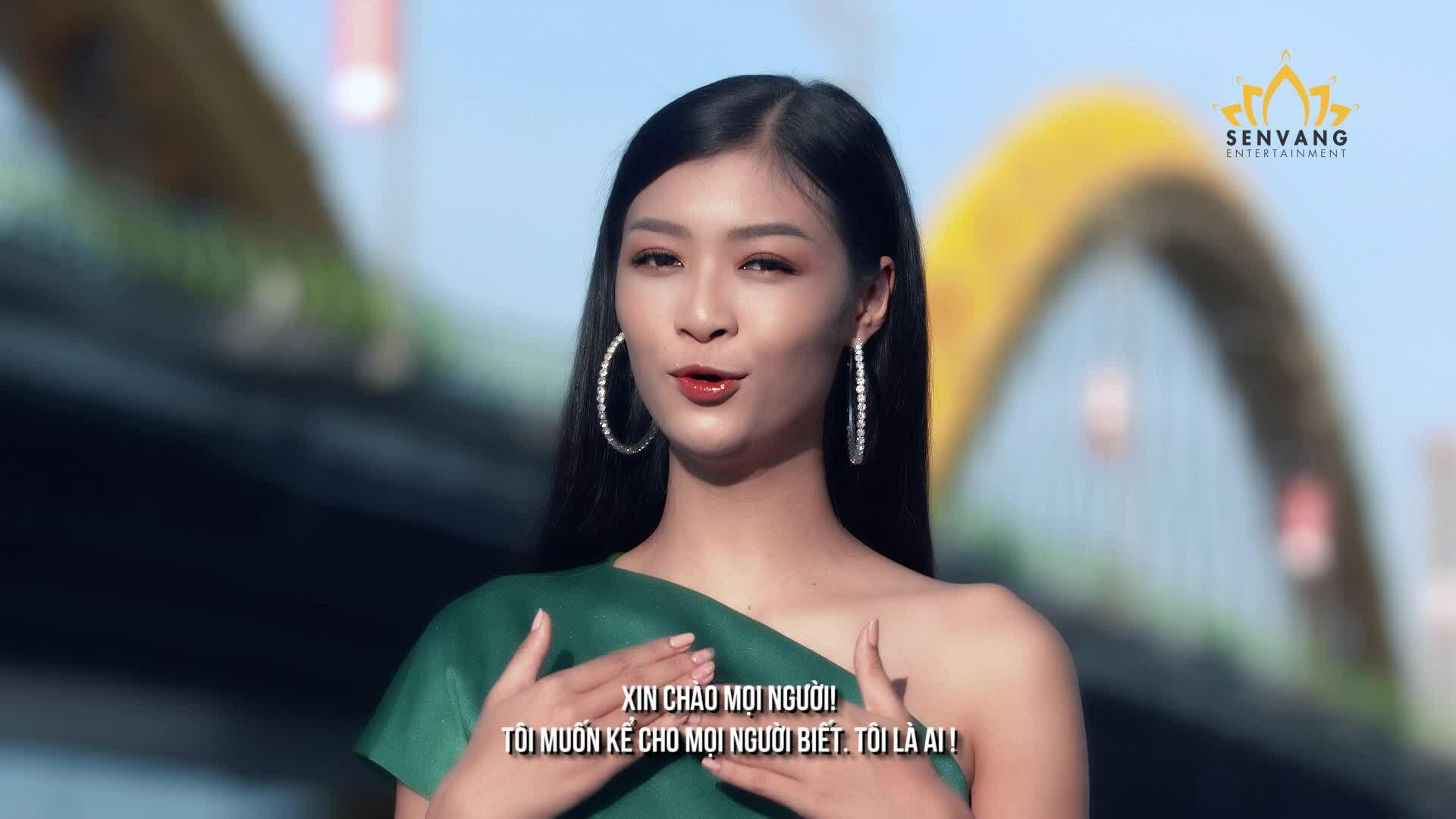 Kiều Loan nói tiếng Anh tự tin trong clip gửi Miss Grand International