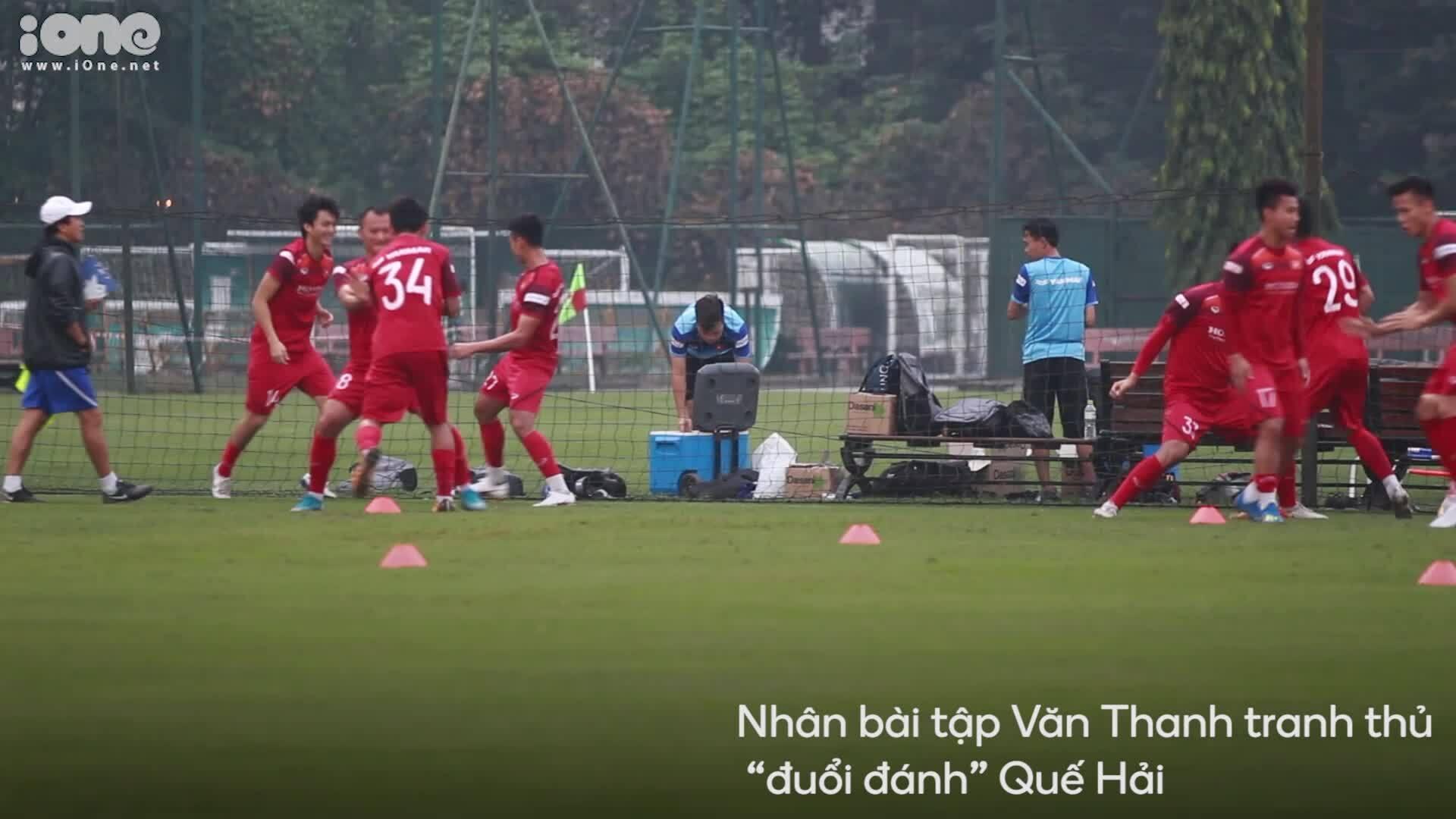 Đội tuyển Việt Nam hào hứng với bài tập mới
