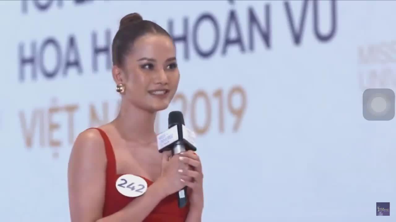 Hương Ly gây bất ngờ vì khả năng ứng xử ở HH Hoàn vũ Việt Nam