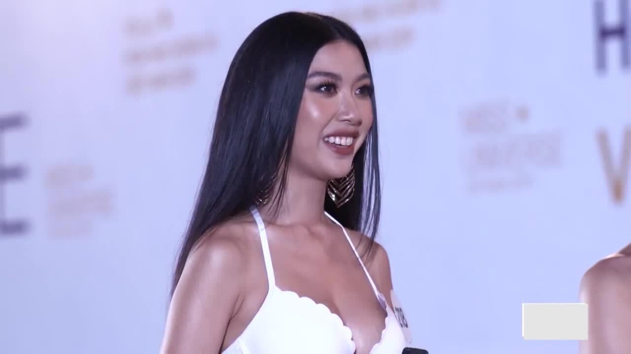 Thúy Vân tại Hoa hậu Hoàn vũ Việt Nam