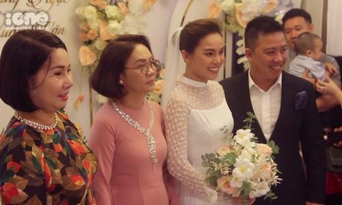 Toàn cảnh lễ rước dâu của Giang Hồng Ngọc