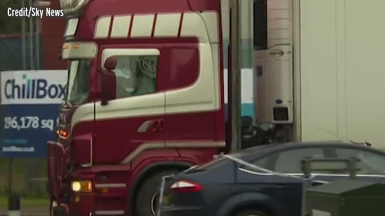 Hành trình định mệnh của chiếc xe tải chở 39 thi thể ở Anh