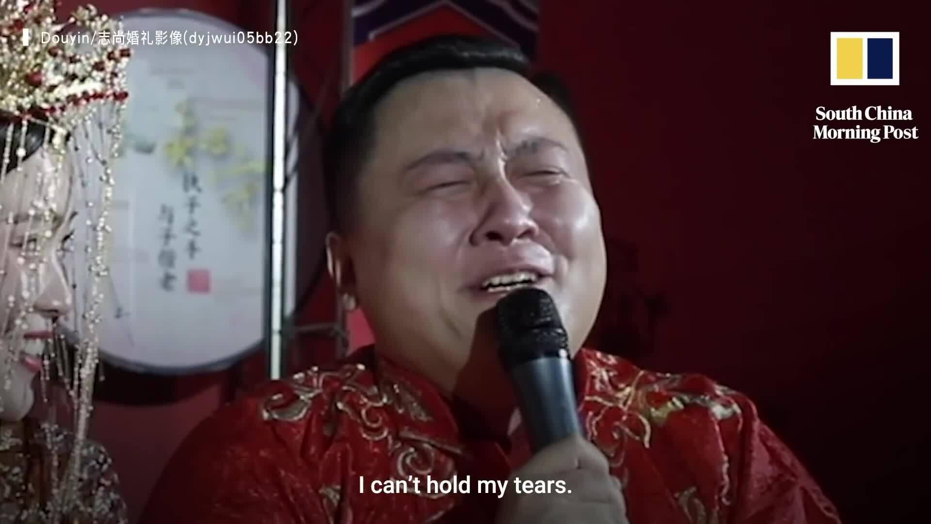 Chú rể khóc rưng rức trong đám cưới sau 7 lần làm phù rể