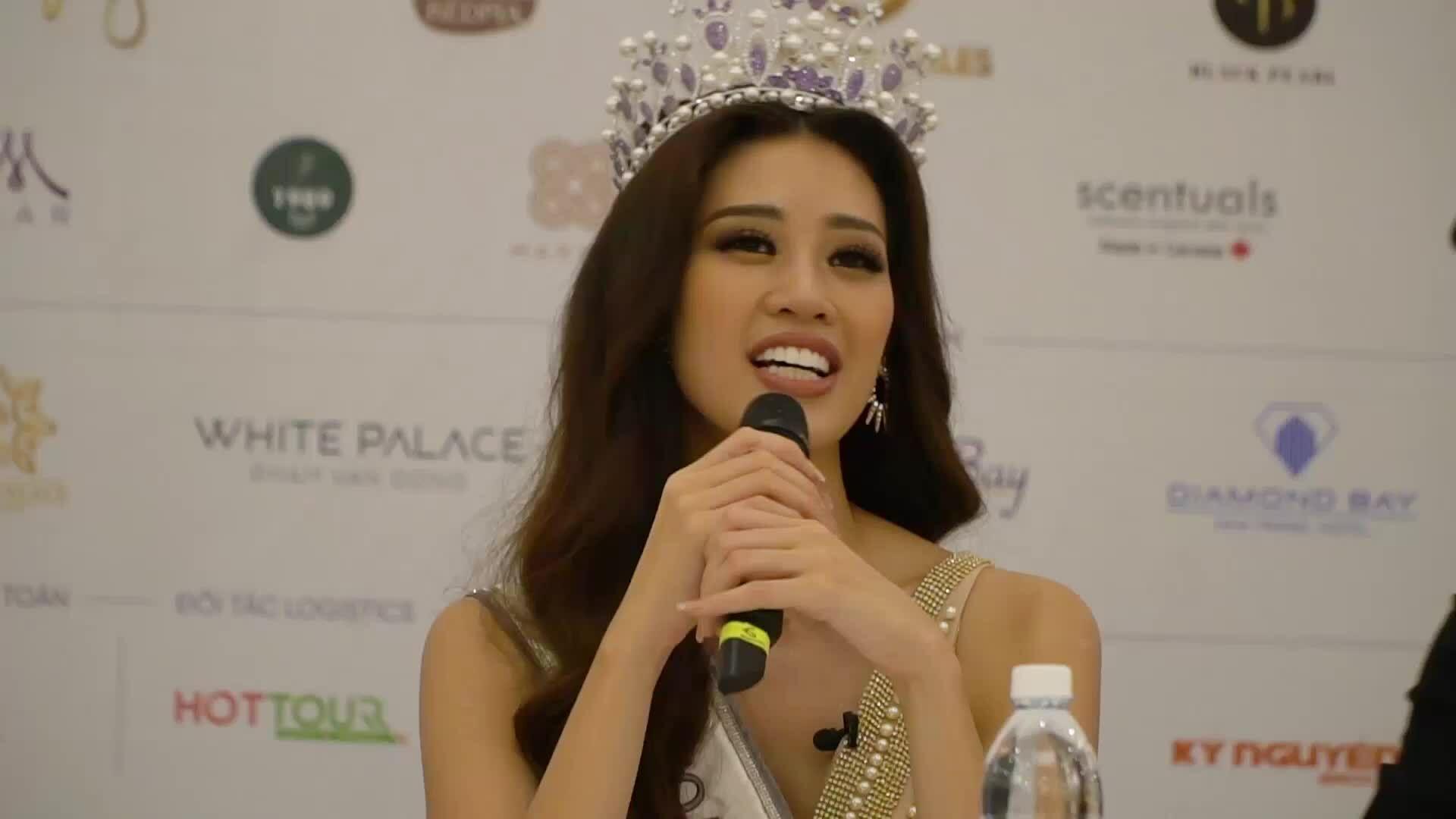 Hoa hậu Khánh Vân áp lực trước thành công của H'Hen Niê