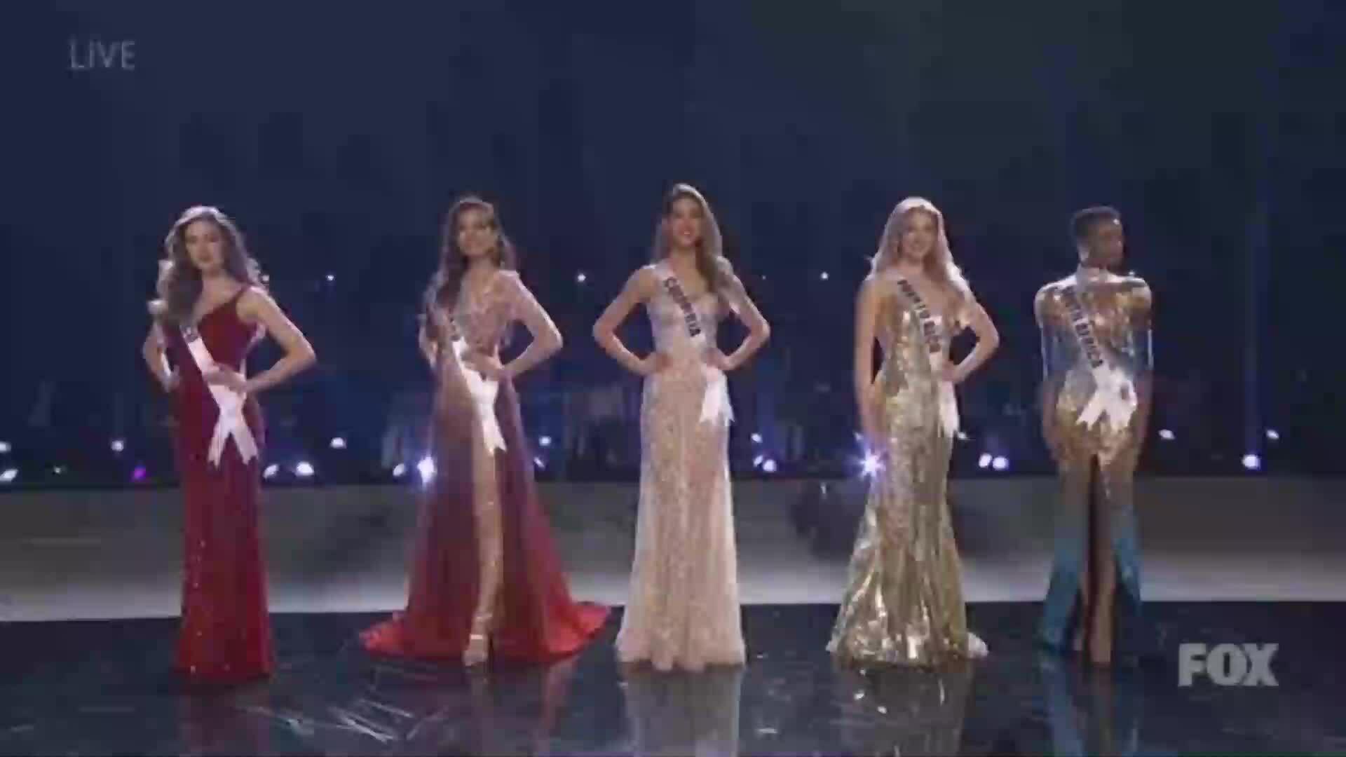 Top 3 Miss Universe 2019 thi ứng xử