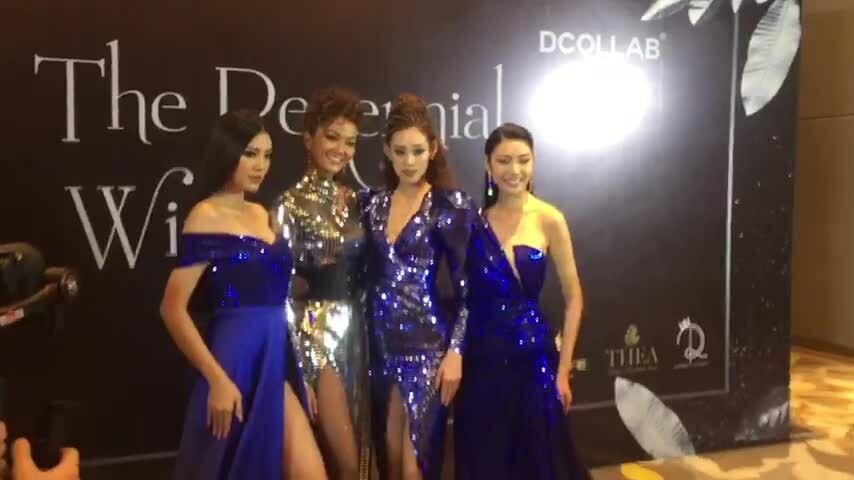 H'Hen Niê đọ sắc cùng top 3 Hoa hậu Hoàn vũ VN