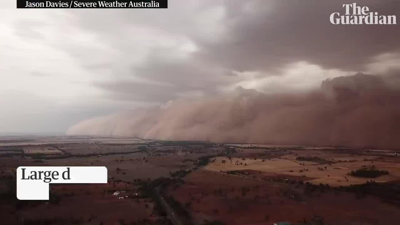 Bão bụi khổng lồ ở Australia