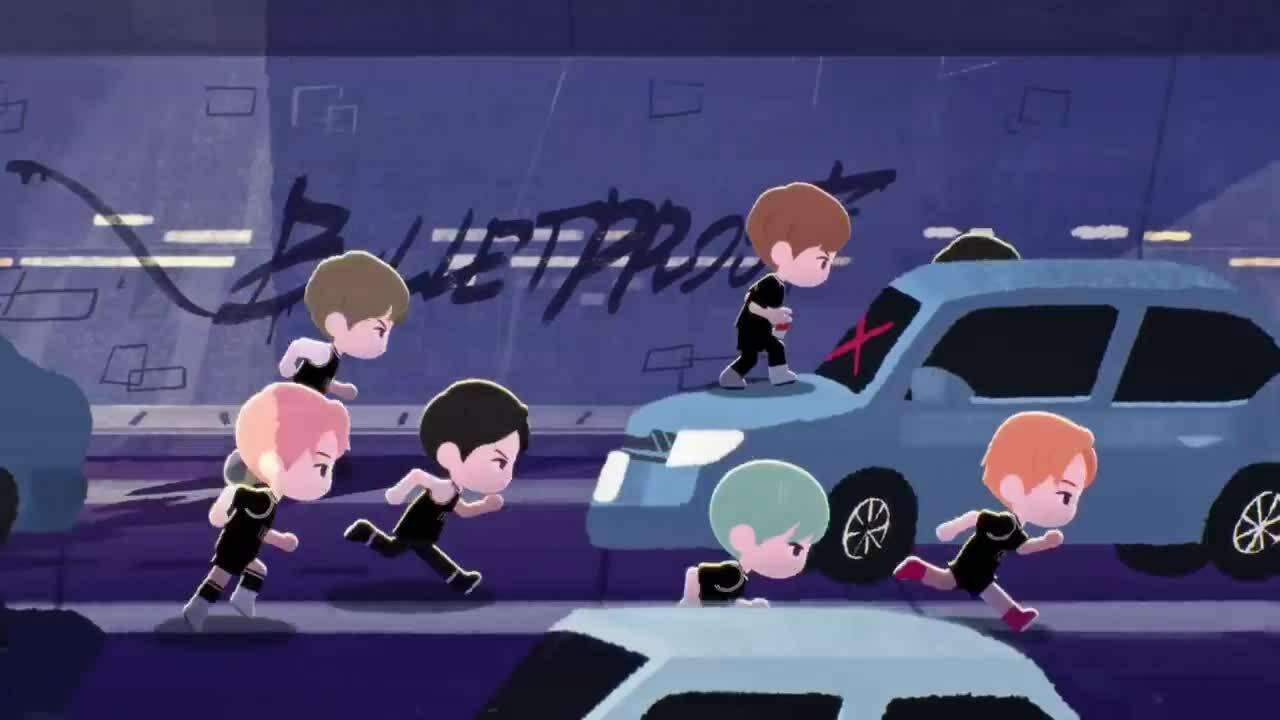 BTS phát hành MV hoạt hình 'We are Bulletproof : the Eternal'